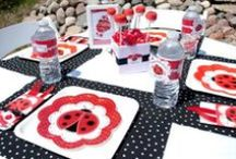 Ladybug Baby Shower  / We put together this board to inspire you to have a cute ladybug theme baby shower party.  We picked some of the cutest cakes, cookies, favors and tableware to help you plan the perfect baby shower party. / by Modern Baby Shower Ideas