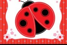 Ladybug Baby Shower theme / We put together this board to inspire you to have a cute ladybug theme baby shower party.  We picked some of the cutest cakes, cookies, favors and tableware to help you plan the perfect baby shower party. / by Modern Baby Shower Ideas