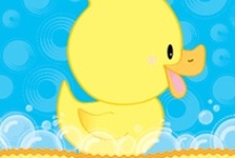 Rubber Ducky Baby Shower  / A Rubber Duck Baby Shower theme is such a fun baby shower theme for those expecting a girl or boy.  We put together this rubber ducky board to inspire you to have the cutest rubber ducky baby shower party. / by Modern Baby Shower Ideas