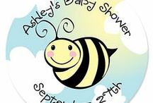 Bee theme Baby Shower / A Bee theme Baby Shower is so fun for boy or girl!  Color coordinate with all your yellow and black decorations and have a buzzzin' fun time!  We put together this board to inspire you to have a bee baby shower. / by Modern Baby Shower Ideas