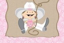Cowgirl Baby Shower / This cowgirl baby shower is the perfect theme for those parents who are cowboys and cowgirls.  We created this board to inspire you to plan the perfect cowgirl baby shower party. / by Modern Baby Shower Ideas