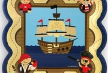 Pirate Baby Shower / Pirate Baby Shower Ideas / by Maternity and Baby Showers