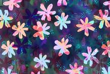 PATTERN {floral} / #floral #patterns and #flower inspiration #floralpattern #textile #design / by NALU TRIBE