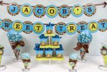 Giraffe Baby Shower / Giraffe baby shower ideas and decorations for your giraffe theme baby shower party. / by Maternity and Baby Showers