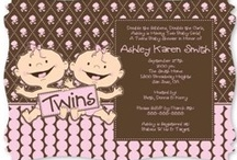 Twins Baby Shower / Twin baby shower ideas for boys or girls for those who are blessed with two! / by Maternity and Baby Showers