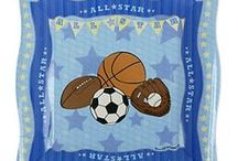 Sports Baby Shower Theme / Sports Baby Shower Ideas to help you plan your sports baby shower party. / by Modern Baby Shower Ideas