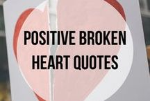 Positive Broken Heart Quotes / Broken Heart Quotes | Broken Heart Quotes Falling Apart | Positive Broken Heart Quotes for Strength : Suffering from a broken heart is hard enough. Here are some quotes to help you when you are falling apart. Follow my other relationship boards here: https://www.pinterest.com/healheartbreak/
