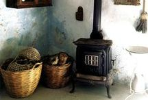 Fireplaces and stoves / by ✹ Leen Marie ✹