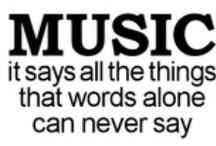 Music..When the words mean everything / by Shirley Huntsman