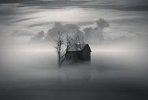 Clouds,& Fog & Raindrops / And a few rainbows too!   / by Fredi Alt