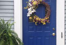 Shut the front door / Exterior door