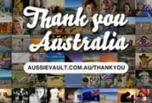 Thank you for being uniquely Australian / Australia is good to us. It is a unique and special home - in culture, climate, landscape and opportunity. To celebrate Australia Day 2014 hundreds of Australian's have been uploading images and messages to show their gratitude for Thank you Australia. Here are some of the entries and some inspiration. Thank you Australia is proudly supported by Australian Unity.  / by Australia Day