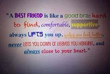BestFriendsAreLikeBras;) / by Dani Ross