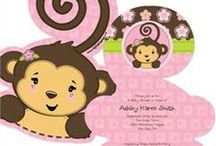Monkey Baby Shower / Monkey Baby Shower Ideas for Baby Girl or Baby Boy! / by Modern-Baby-Shower-Ideas.com
