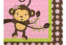 Monkey Baby Shower Decorations / Monkey Baby Shower Ideas / by Modern Baby Shower Ideas