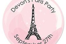 Paris themed Baby Shower Ideas / Paris themed baby shower ideas / by Modern Baby Shower Ideas