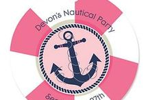 Nautical Baby Shower Girl / Nautical Girl Baby Shower / by Modern Baby Shower Ideas