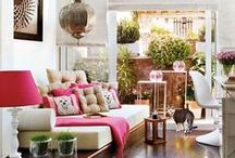 Think pink / Ideas, inspiration and top tips for using pink in your home decor.