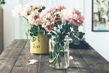 Flowers / Ideas, inspiration and top tips for using flowers in your home decor.