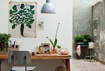 Work Spaces / Ideas, inspiration and top tips for creating the perfect work space.