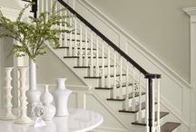 Hall and Stairs / Ideas, inspiration and top tips for creating the perfect hallway and the most stunning stairs.