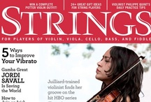 STRINGS Magazine Covers