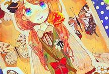 Manga / Artes com estilo manga e/ou estilo similar. / by João Martins