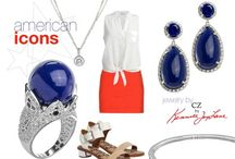 Looks We Love / Outfit ideas featuring jewelry by CZ by Kenneth Jay Lane