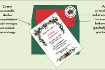 POLY GRAPHICS CUSTOM INVITATIONS / Custom made invitations, announcements, notecards and party decorations! All of them graphically created by  at home moms! http://www.polygraphics.com/ / by Janet Horton