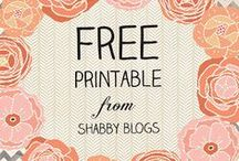 Pretty printables / by Tiffany Eversole Emmer