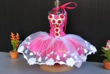 OOAK Dress Up / Hand made Doll dressed / by Arusak Nazanin