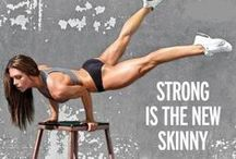 Health + Fitness / Health and strength-building tips you can use to get strong, feel inspired and kick some major butt.