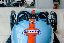 Counting Blue Cars / Gulf Oil. The livery, the legend, the color palette / by Pete Holm