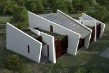 Concept house / Ces projets n'ont pas encore vu le jour mais se révèlent atypiques et novateurs. These projects have not yet emerged but show atypical and innovative