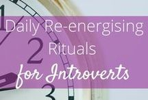 All Things Introvert! / Tips on managing introvert energy, thriving in an extroverted world and loving your personality type.