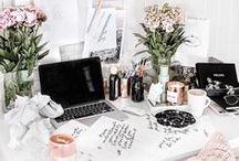 ✨Office Inspo / Office inspiration, home decor, desk goals, office inspo, girl boss