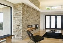 PB Fireplace / PB fireplace stone and fireplace boxes for indoor and outdoor fireplace / by Christine Dattilo