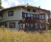 Maisons paille (straw bale house) / Maison isolée en ballots de paille
