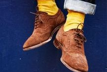 Socks / I'm a fan of ridiculously colored and patterned socks :: Daniel Radcliffe