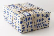 Gift Wrap / Classy, creative, and affordable gift wrapping ideas. / by Sydny Koch