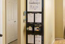 Storage and organization / Organization ideas