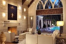Home building ideas / Vaulted ceilings and underground garages