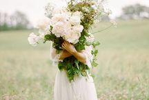 BOUQUETS DE MARIÉE / Inspirations Bouquets de mariée http://www.leblogdemadamec.fr
