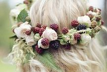 PRUNE // PLUM / Inspirations mariage en prune http://www.leblogdemadamec.fr