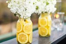 DIY Wedding Ideas / Look here for DIY ideas to personalize your special day, from wedding decorations to party favors, ideas for your wedding registry, decor for the newlyweds and more