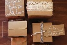 Brown paper packages tied up with strings........... / by Catalina