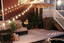 Patio Style Challenge / This is where we pin the inspiring outdoor spaces created by the talented decor bloggers who take part in our Patio Style Challenge series on The Home Depot Blog . You'll also find sneak peeks, inspiring images, and DIYs from the Style Challenge designers as they transform their patios, balconies, decks and porches for this ongoing feature on The Home Depot Blog. Visit thd.co/patiostylechallenge to see more of their outdoor decorating ideas.