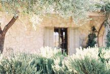 PROVENCE / Inspirations mariage en Provence  http://www.leblogdemadamec.fr