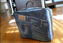 Blue Jean Genie / Crafting, upcycling, repurposing, old jeans and denim