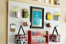 Craft area / by Jessica Ralston